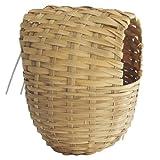 Pet Ting Large Finch Wicker Nesting Box 11 x 15 x 15