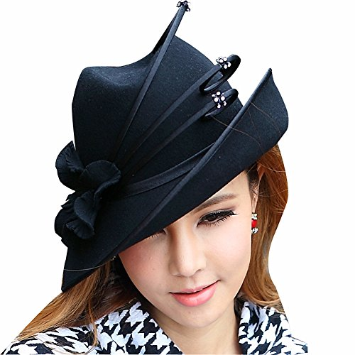 junes-young-women-wool-felt-church-hat-ascot-race-derby-hat-fedora-hat-wedding-party-black