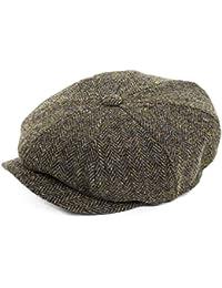 Failsworth Hats Carloway Bakerboy Cap - Brown Mix