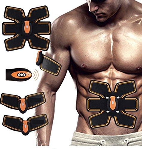 Das Flex-Gürte-Flex-System Bauchmuskeltoning-Gürtel schwarz