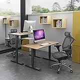 OtdAir Höhenverstellbarer Schreibtisch Elektrisch Tischgestell Schreibtisch,passt für alle gängigen Tischplatten - 2