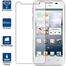 Beiuns Vidrio Templado Protector de Pantalla para Huawei Ascend G510 (4,5 pulgadas)