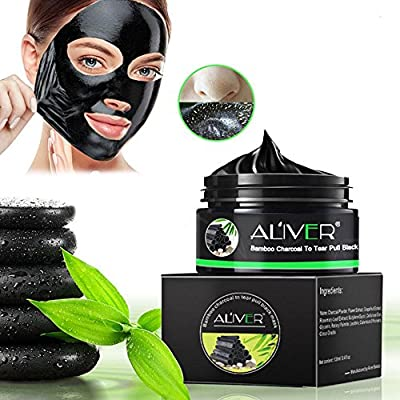 Blackhead Remover Black Mask, Face Purifying Peel Off Activated Charcoal Mask Deep Facial Cleansing Pores & Acne -4.8oz by Niceeshop