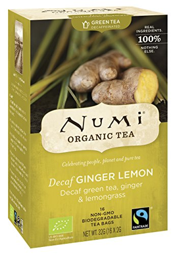 Numi Bio Decaf Ginger Lemon, 32 g