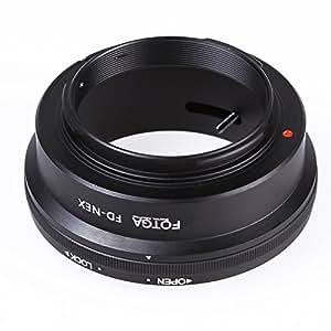 Andoer Fotga adaptateur anneau de fixation Mount Ring pour Canon FD Lens pour Sony NEX E NEX-3 NEX-5 NEX-VG10