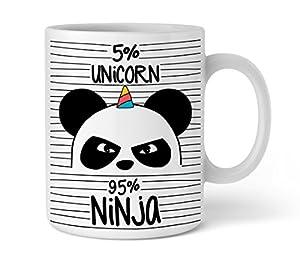 Shirtinator 'Taza Favorita Unicorn Ninja