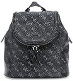 Guess - Hwly6432310, Bolsos mochila Mujer, Gris (Coal), 12x25x25.5 cm (W x H L)