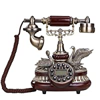 Bedroom Home Retro Telephone Decorative Landline Replica Antique Telephone Vintage Retro Landline House Home Phone Handset