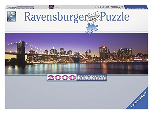 Ravensburger - New York Skyline panorama, puzzle de 2000 piezas (16694 7)