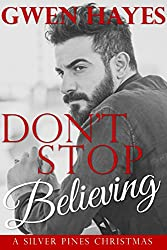 Don't Stop Believing: A Gay Christmas Story (Silver Pines Book 1) (English Edition)