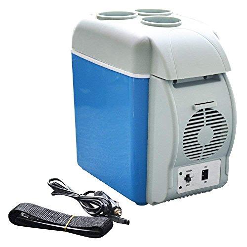 Nevera 12V Portátil Coche Refrigerador Eléctrico Termoeléctrico Viaje Nevera 7.5 L