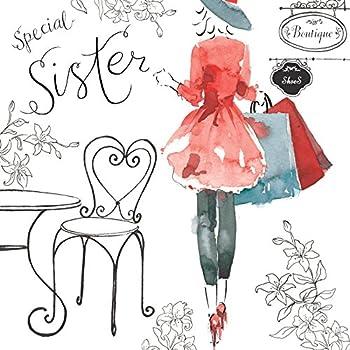 Geburtstagskarte Der liebsten Schwester alles Gute zum Geburtstag ...
