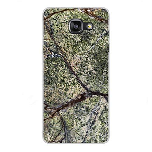 Todo Phone Store Custodia Cover [Disegno] Silicone TPU Gel [Tessitura 043] per [Samsung A5 (2016) A510F]