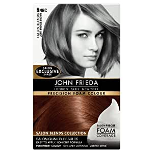 John Frieda Precision Foam Colour Salon Blends 6NBC Light Bronze Brown