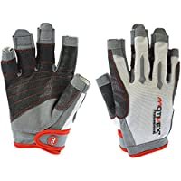 MOTIVEX® Professional Toldo Guantes Blanco/Rojo, Tallas S a XL, Color Negro, tamaño Large
