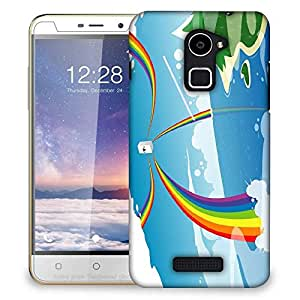 Snoogg Beach energy goodness 2524 Designer Protective Back Case Cover For Coolpad Note 3 Lite