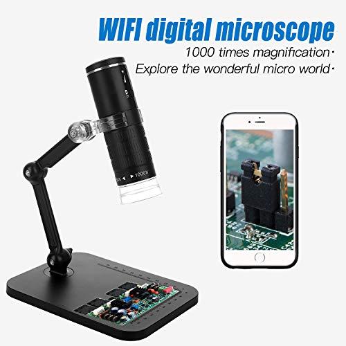 Jiusion 1000x Ampliación WiFi Cámara microscopio