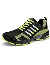 c745ff1b609 Women Men Casual Sports Running Shoes Air Trainers Jogging Fitness Shock  Absorbing Gym Athletic…