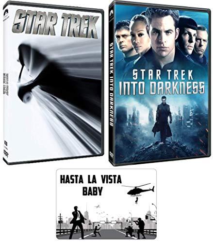 Star Trek: Reboot Movie Series J.J. Abrams 2 DVD Bundle with Bonus Art Card