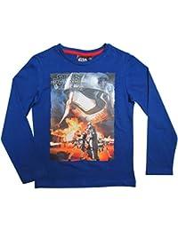 Star Wars Kollektion 2016 Langarmshirt 104 110 116 122 128 134 140 146 Shirt Jungen Neu Pullover Sturmtruppler Stormtrooper Blau