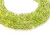 olivina, perle, Smooth Round Beads, 5–6mm, 33cm, verde perline, perline, pietra preziosa perline