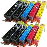 ESMOnline 10 komp XL Druckerpatronen Ersatz für HP Deskjet 3070 3520 HP Officejet 4610 4620 4622 HP 5510 5512 5514 5515 5520 5524 6510 6520 7510 7520