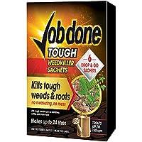 Job Done 86600114 Tough - Bolsa para herbicida (6 Unidades), Color Negro