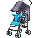 Poussette de bébé, quadruple léger se pliant, peut s'asseoir, s'allonger, corps en alliage d'aluminium, amortisseur superbe