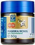 Manuka Health - Manuka Honig MGO 100 + (50g) - 100% Pur aus Neuseeland mit zertifiziertem Methylglyoxal Gehalt