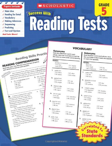 reading-tests-grade-5-scholastic-success-with-workbooks-tests-reading