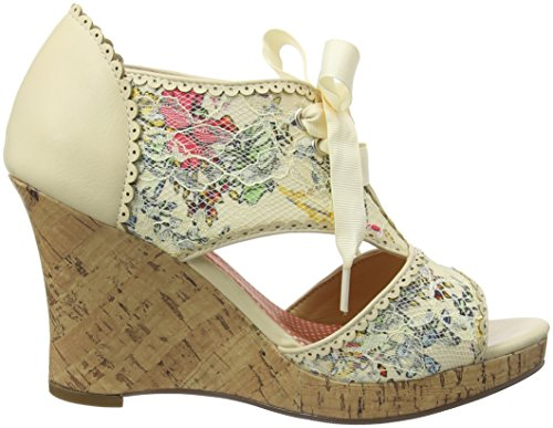 Joe Browns A Day To Remember Shoes, Sandales Plateau femme Off-white (a-cream)