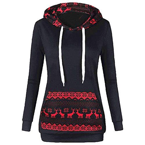 Berimaterry Damen Kapuzenpullover Mode Lässig Frauen Patchwork Hoodie -