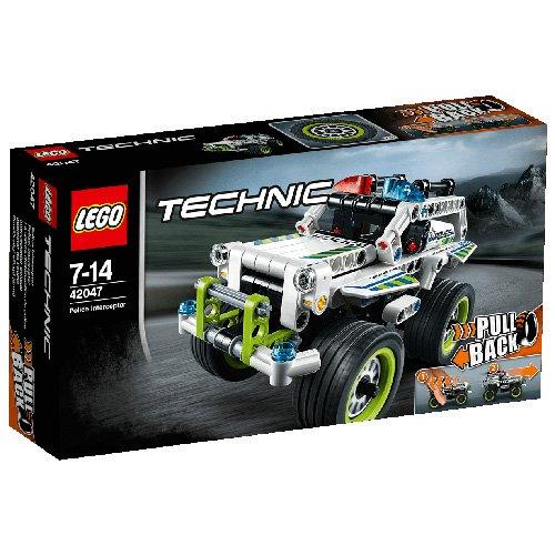 Preisvergleich Produktbild Lego Technic 42047 - Polizei-Interceptor, Auto-Spielzeug