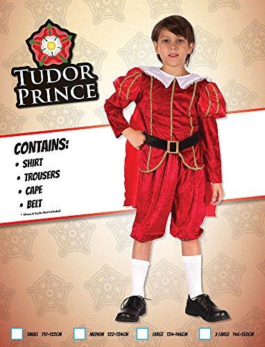 Imagen de tudor príncipes  niños disfraz  pequeño 110cm a 122cm alternativa