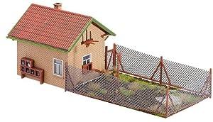 Faller - Edificio para modelismo ferroviario escala 1:87 (5.9x17.5x6.5 cm)