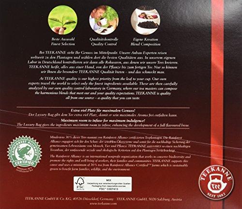 Teekanne Selection 1882 im Luxury Bag – Darjeeling – zart, blumig, 20 Portionen, 1er Pack (1 x 80 g)