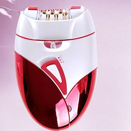 Professional Lady Electric Shaver Epilator Cleaning Brush, Model KEDA-189 Multi-Function Rechargeable Body Dehairing,