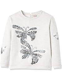 RED WAGON Sweat-shirt avec papillons à sequin pour fille