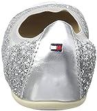 Tommy Hilfiger Mädchen D3285ANA 8C-3 Geschlossene Ballerinas, Silber (Silver 483), 33 EU -