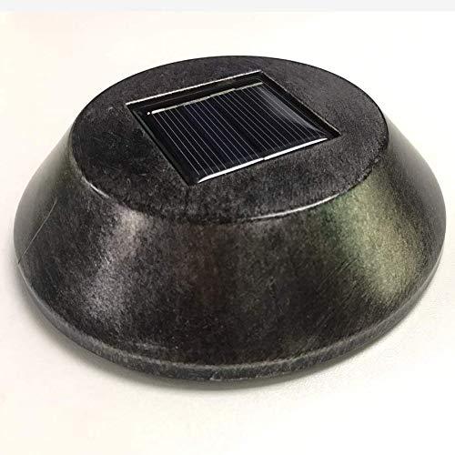 2 Stück Solar-Akku, Solar-Batterie Leistungsstarke für Solarleuchte Garten, Wiederaufladbare Batterien AA NiMH Außen, 600mAh