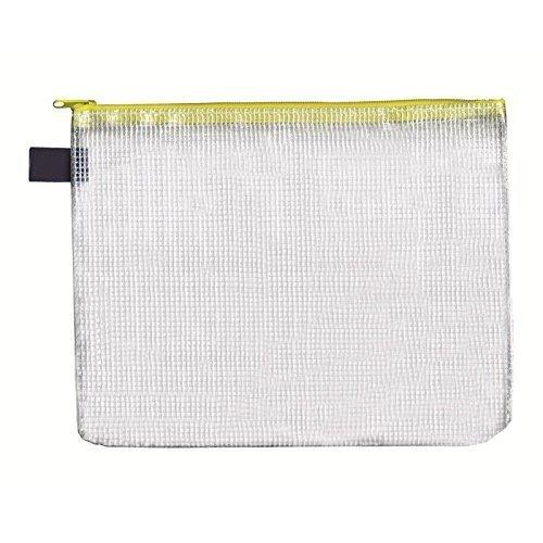 Reissverschluss-Beutel A5, mit Zip, gelb, 10 Stück Stück Reißverschluss-beutel