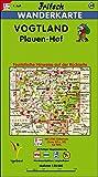 Fritsch Karten, Nr.49, Vogtland, Plauen, Hof (Fritsch Wanderkarten 1:50000)