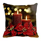 #9: Mesleep Merry Christmas Cushion Covers In Digital Print