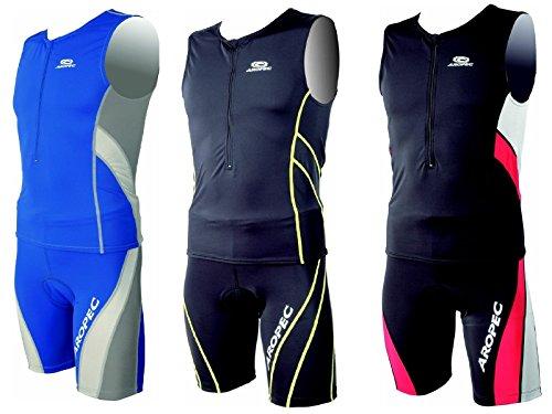 Aropec Triathlon Running Short Herren SCHWIMMEN Radfahren unten, blau (Triathlon Shorts Bike Swim)