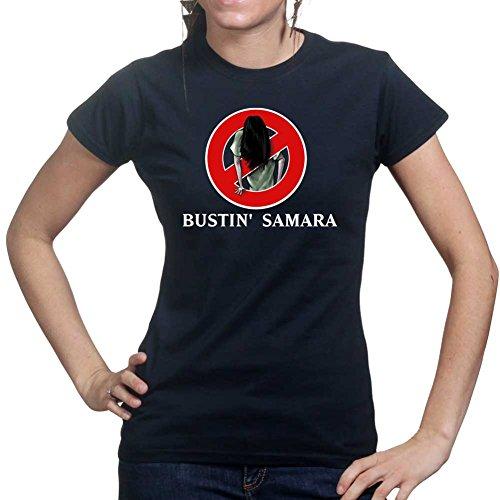 Customised_Perfection Bustin' Samara Ghost Ring Horror Ladies T Shirt (Tee, Top)