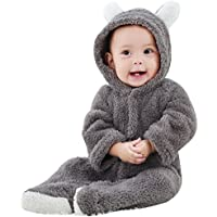 ESHOO Newborn Baby Animal Romper Jumpsuit Snowsuit Outfit Coat,Climbing Clothing