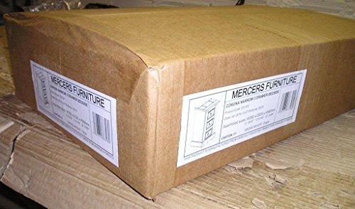 Mercers Furniture Corona noche con un cajón estrecha 3, madera, madera de...