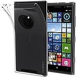 Nokia Lumia 830 Funda, iVoler TPU Silicona Case Cover Dura Parachoques Carcasa Funda Bumper para Nokia Lumia 830, [Ultra-delgado] [Shock-Absorción] [Anti-Arañazos] [Transparente]- Garantía Incondicional de 18 Meses