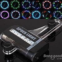 Calli Ciclo de la bici de la bicicleta 14 LED 30 patrones de luz de la rueda