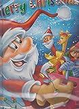 Buon Natale carino Babbo Natale calendario dell' avvento cioccolata al latte–24Milk Chocolates
